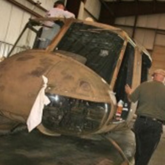 OPERATION HUEY RESTORATION TAKES FLIGHT