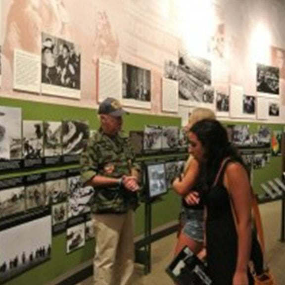 AN INVITATION TO FAMILIES TO EXPERIENCE HISTORY WITH THOSE WHO LIVED IT FREE WALKING TOURS OF THE NJ VIETNAM VETERANS MUSEUM & MEMORIAL, SATURDAY, JULY 5, 11 A.M. AND 1 P.M.
