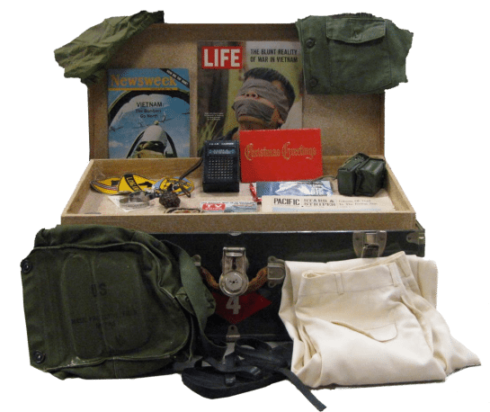 New Jersey Vietnam Veterans' Memorial Foundation Traveling Trunks