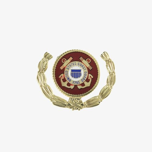 318-Coast-Guard-Wreath-Pin