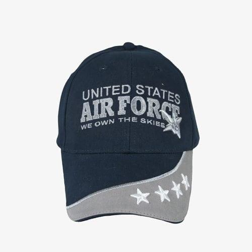 501-USAF-4-Stars-On-Brim