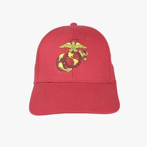 USMC Logo Red Hat - New Jersey Vietnam Veterans' Memorial Foundation