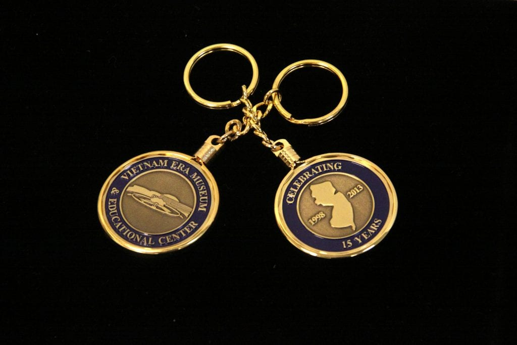 501 NJVVM COIN KEY CHAIN