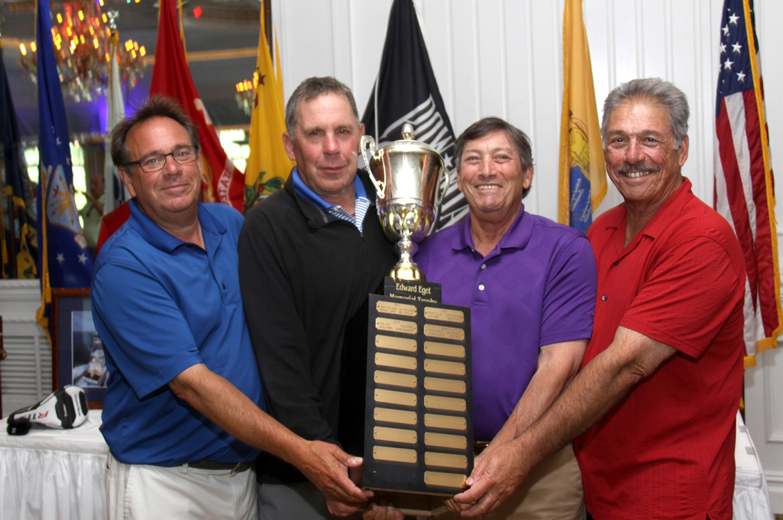 Edward Eget Memorial Trophy at Eagle Oaks Golf & Country Club in Farmingdale, New Jersey