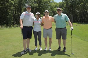 Golfers at the New Jersey Vietnam Veterans' Memorial Foundation 26th Annual Golf Tournament