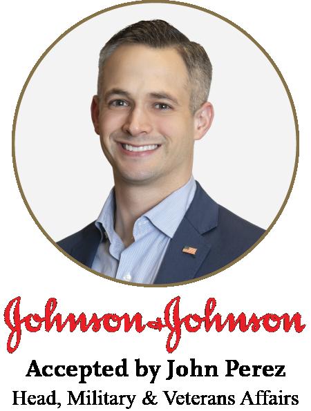Johnson & Johnson Head of Military & Veterans Affairs John Perez
