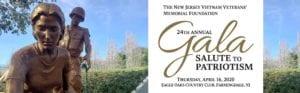 Support Our Veterans at the New Jersey Vietnam Veterans' Memorial Gala