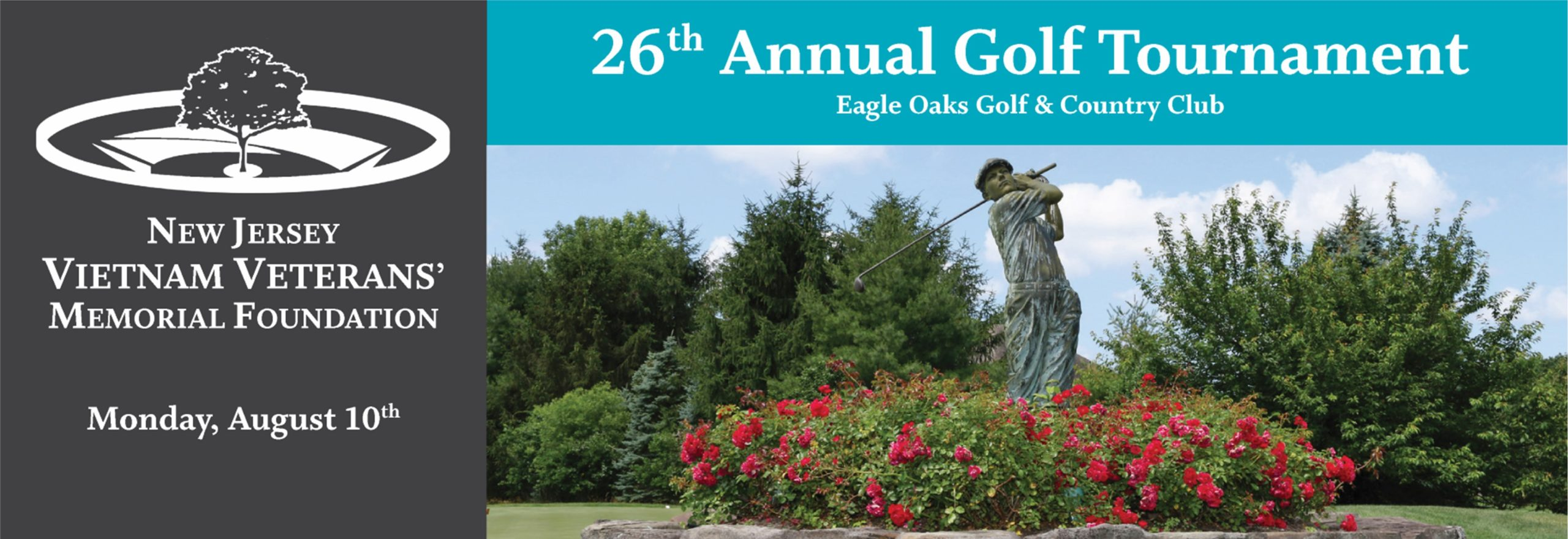 26th Annual Golf Tournament supporting the New Jersey Vietnam Veterans' Memorial Foundation